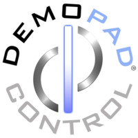 DemoPad Logo - Stamp on White Background